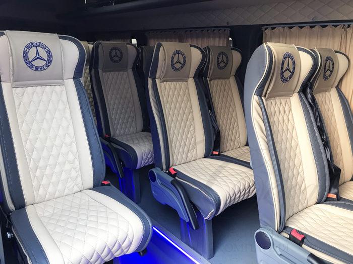 Mercedes-Benz Sprinter (белый, 20 мест)