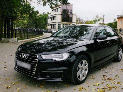 Audi A6 (черный)