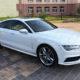Audi A7 (белый)