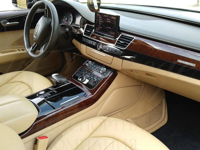 Audi A8 long (черный)