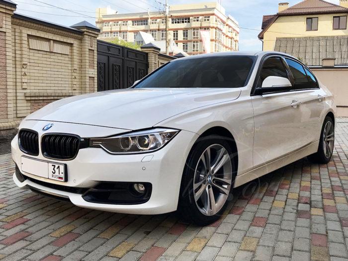 BMW-3 F30 (белый)
