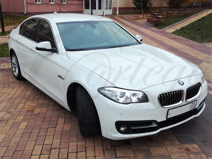 BMW-5 F10 (белый)