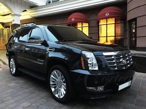 Cadillac Escalade (черный)