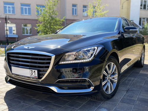 Hyundai Genesis (черный)