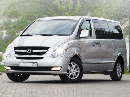 Hyundai H1 (серебристый, 7 мест)