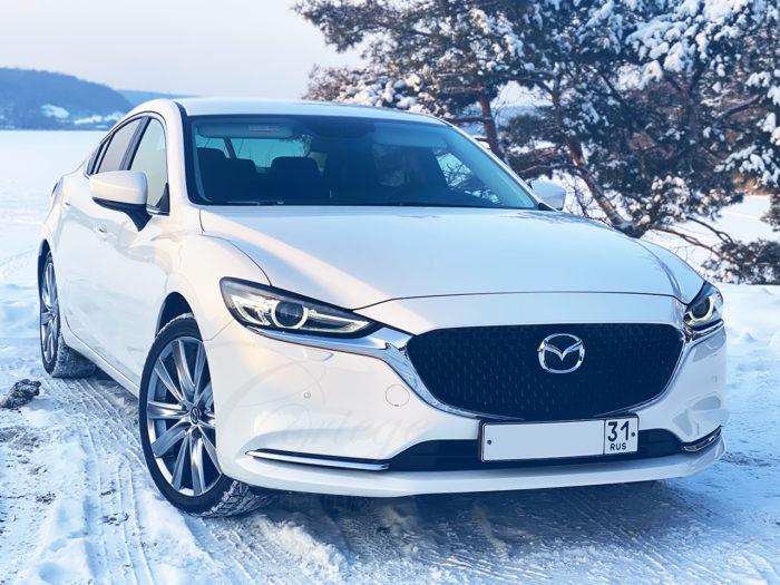 Mazda-6 (белый)