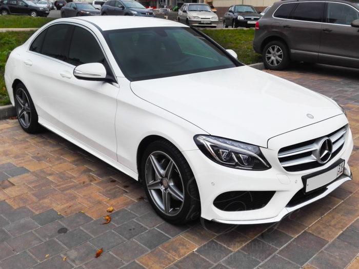 Mercedes-Benz C W205 (белый)