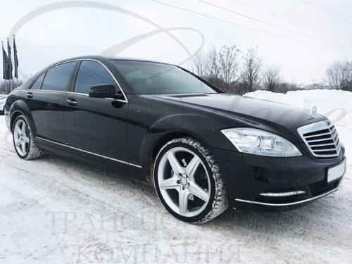 Mercedes-Benz S W221 long (черный)