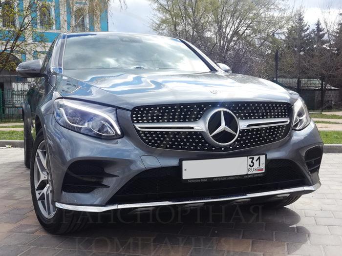 Mercedes-Benz GLC (серебристый)
