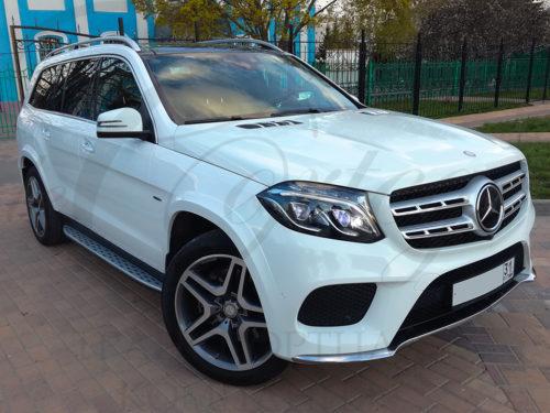 Mercedes-Benz GLS (белый)