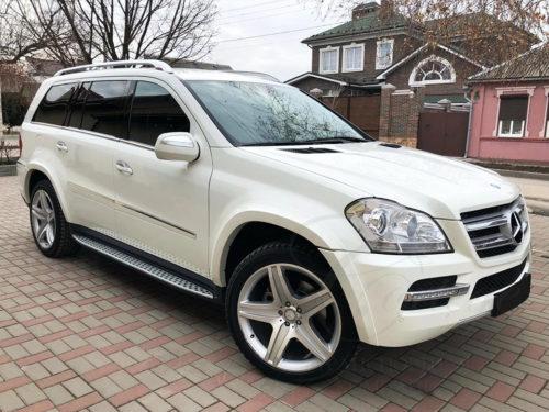 Mercedes-Benz GL (белый)