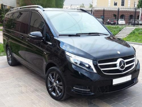 Mercedes-Benz V (черный, 7 мест)