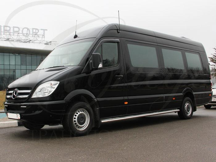 Mercedes-Benz Sprinter (черный, 20 мест)