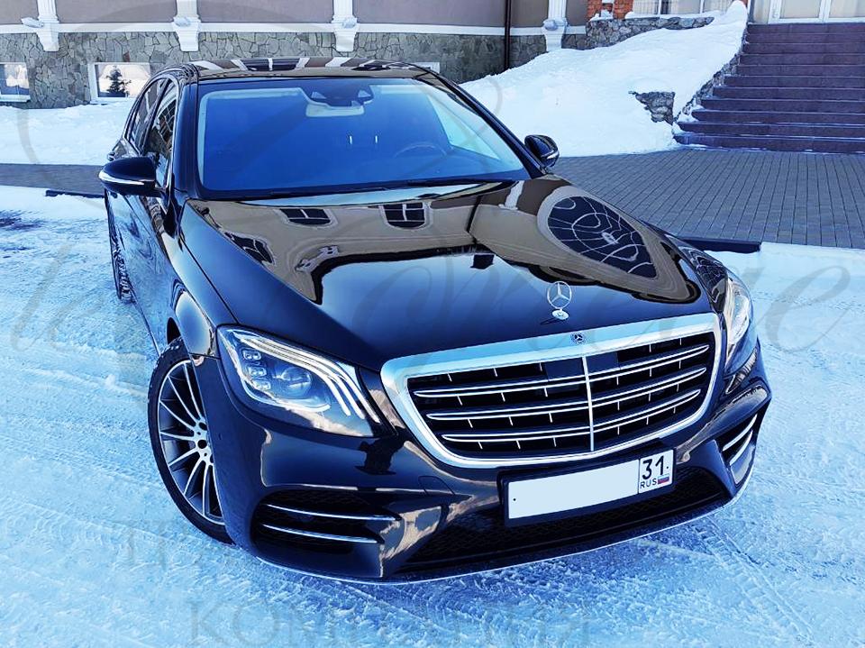Mercedes-Benz S W222R long (черный)