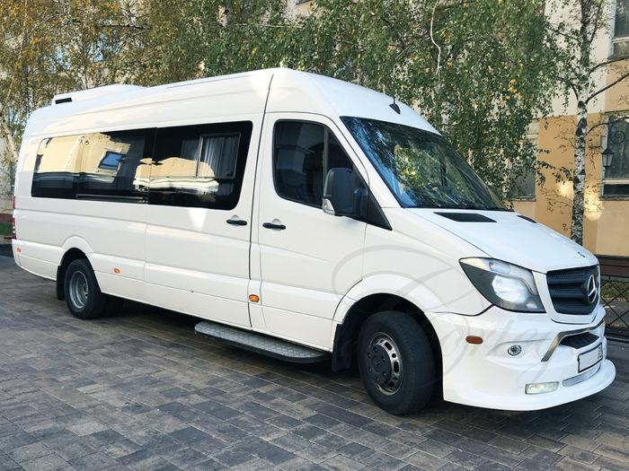 Mercedes-Benz Sprinter Lux (белый, 20 мест)