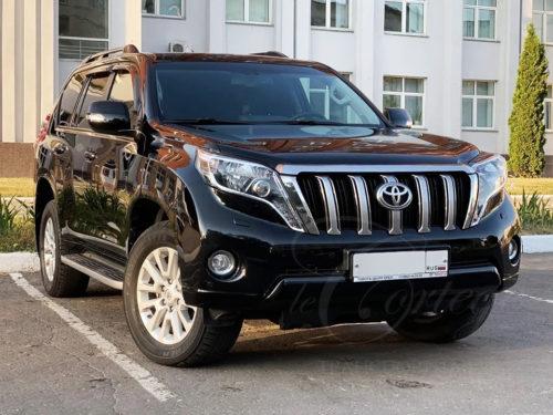 Toyota Land Cruiser Prado (черный)