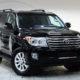 Toyota Land Cruiser (черный)