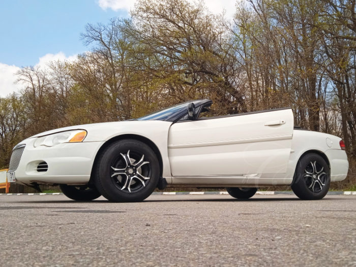 Chrysler Sebring кабриолет (белый)