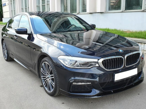 BMW-5 G30 (черный)