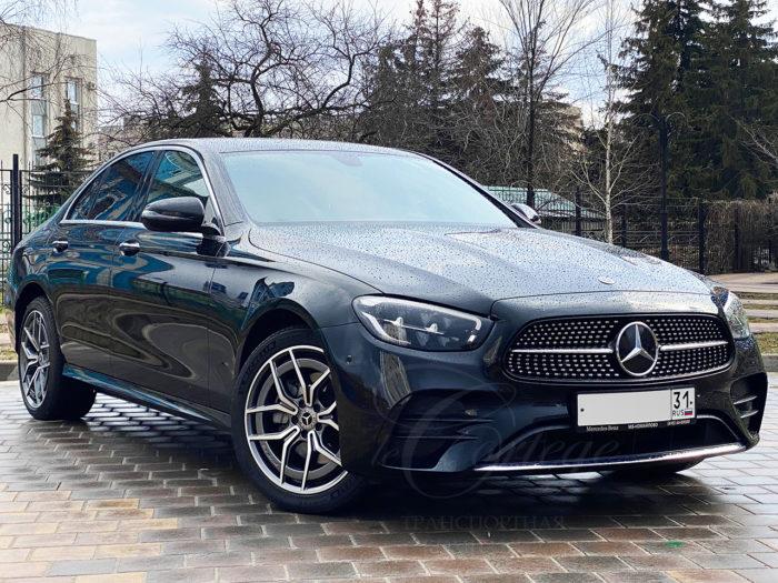 Mercedes-Benz E W213 R (черный)