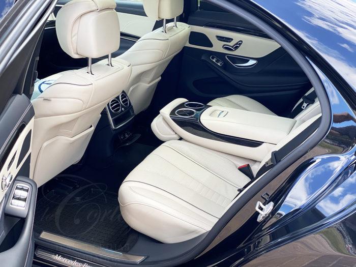 Mercedes-Benz S W222 long Maybach (черный)